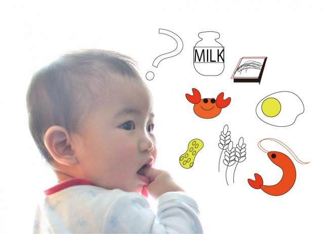 離乳食アレルギー