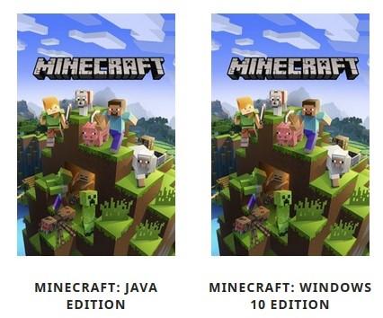 マインクラフトはWindows10かJava版か?